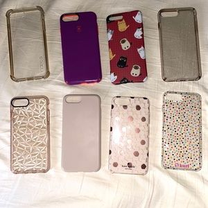 iPhone 8 Plus Case Bundle (8)